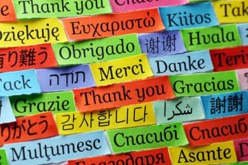 Languages Thank you