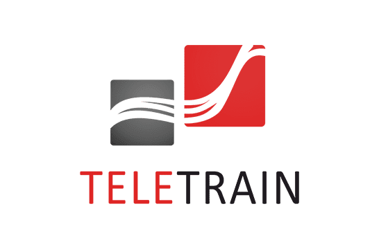 teleTrain logo